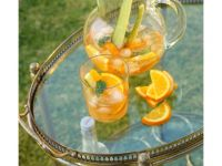 Bowle mit Gurke und Orange Rezept