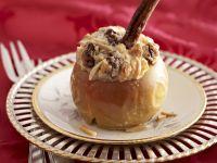 Bratapfel mit Marzipan gefüllt Rezept