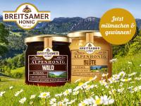 Köstlichen Alpenhonig gewinnen