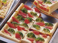Broccoli-Tomaten-Kuchen