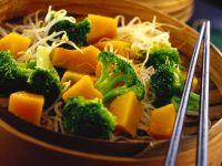 Brokkoli-Kürbissalat Rezept