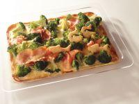 Brokkoli-Lachs-Quiche Rezept