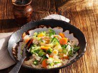 Brokkoli-Möhren-Reis Rezept
