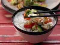 Brokkoli-Tofu-Wok Rezept