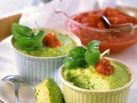 Brokkoliauflauf mit Tomatensauce Rezept