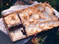 Brombeer-Baiser-Kuchen Rezept