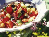 Brot-Gemüse-Salat aus der Toskana