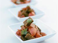 Brot-Tomaten-Salat Rezept