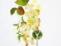 Brotsalat mit Frühlingszwiebeldressing Rezept