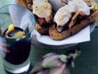 Bruschetta mit Artischocken Rezept