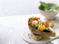 Bruschetta mit Gemüse Rezept
