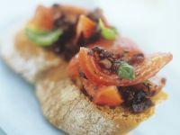 Bruschetta mit Oliven Rezept