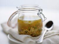 Buchstabensuppe mit Gemüse Rezept