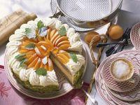 Buchweizen-Joghurt-Torte mit Aprikosen Rezept