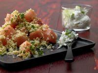 Bulgur-Melonen-Salat Rezept