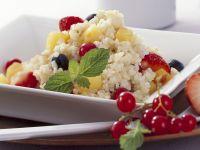 Bulgur mit frischen Früchten Rezept