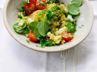 Bulgursalat mit Tomaten und Gurke Rezept