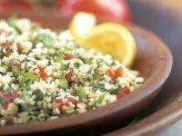 Bulgursalat mit Tomaten und Kräutern Rezept
