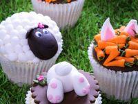 Bunt verzierte Cupcakes Rezept
