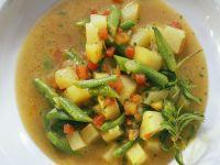 Bunte Gemüsesuppe mit Kartoffeln Rezept