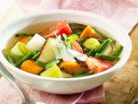Bunte Gemüsesuppe vegetarisch Rezept