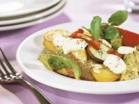 Bunte Kartoffel-Gemüse-Pfanne