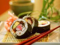 Bunte Sushi Rezept