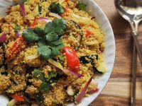 Bunter Quinoa-Salat Rezept