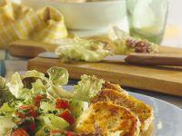 Bunter Salat mit Bulgurtalern Rezept