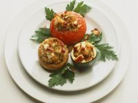 Buntes Gemüse mit Couscousfüllung Rezept