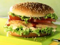 Burger mit Hähnchenbrust Rezept