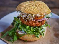Burger mit Lachs Rezept