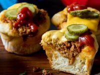 Mini Cheeseburger Muffins