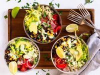 Burrito-Bowl Rezept