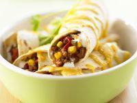 Burritos mit Chilifüllung Rezept