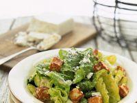 Caesar Salad mit Tofu Rezept