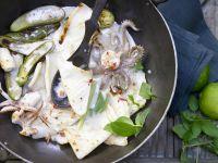 Calamari-Pfanne Rezept