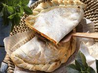 Calzone mit Schinken und Mozzarella Rezept