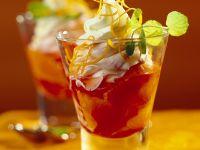 Campari-Orangencreme Rezept