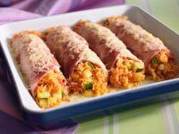 Cannelloni aus Schinken und Reis Rezept