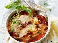 Cannelloni mit Mozzarella und Hackfleisch Rezept