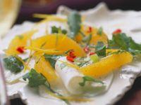 Carpaccio aus Kohlrabi mit Orangen Rezept