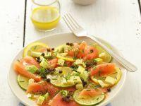 Carpaccio vom Lachs mit Zitrusfrüchten Rezept