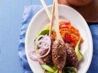 Cevapcici mit Reis Rezept