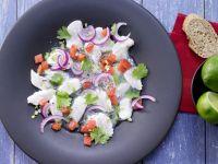 Ceviche von weißem Fisch Rezept