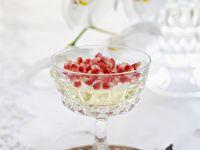 Champagnergelee mit Granatapfel Rezept