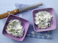Champignon-Frischkäse-Creme