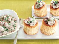 Champignon-Pasteten Rezept
