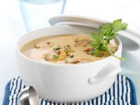 Champignon-Sahne-Suppe Rezept