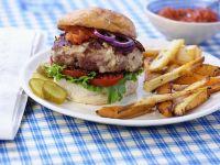 Cheeseburger mit Tomatenconfit Rezept